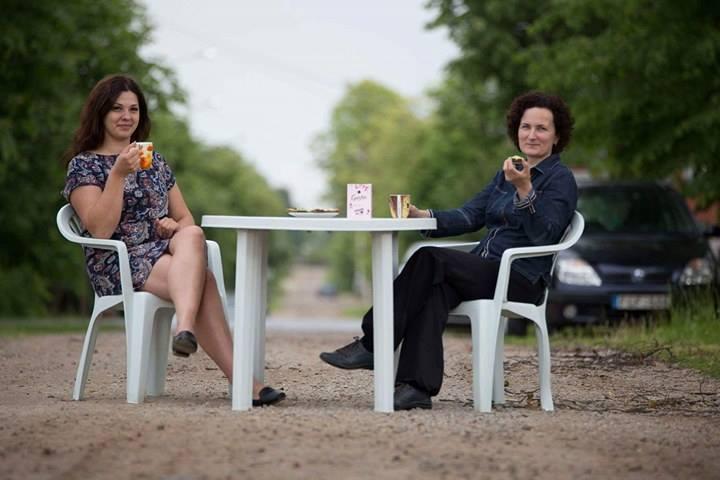 Šiaulietės Ieva (kairėje) ir Rasa