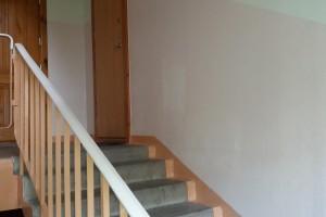 Gegužių g. 54 daugiabučiame name sparčiai vyksta remonto darbai