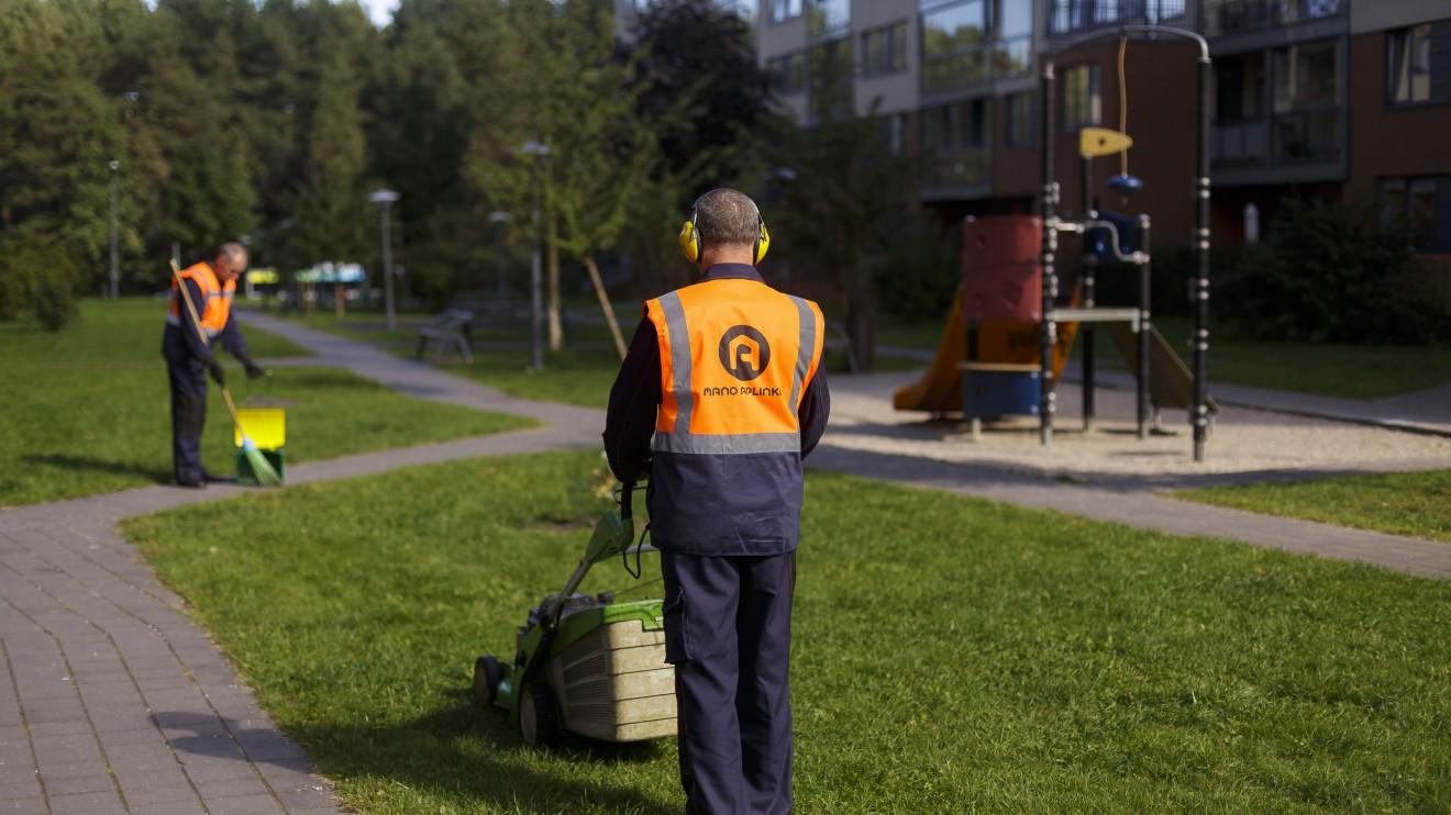 """UAB """"Mano aplinka"""" darbas nelieka nepastebėtas gyventojų"""