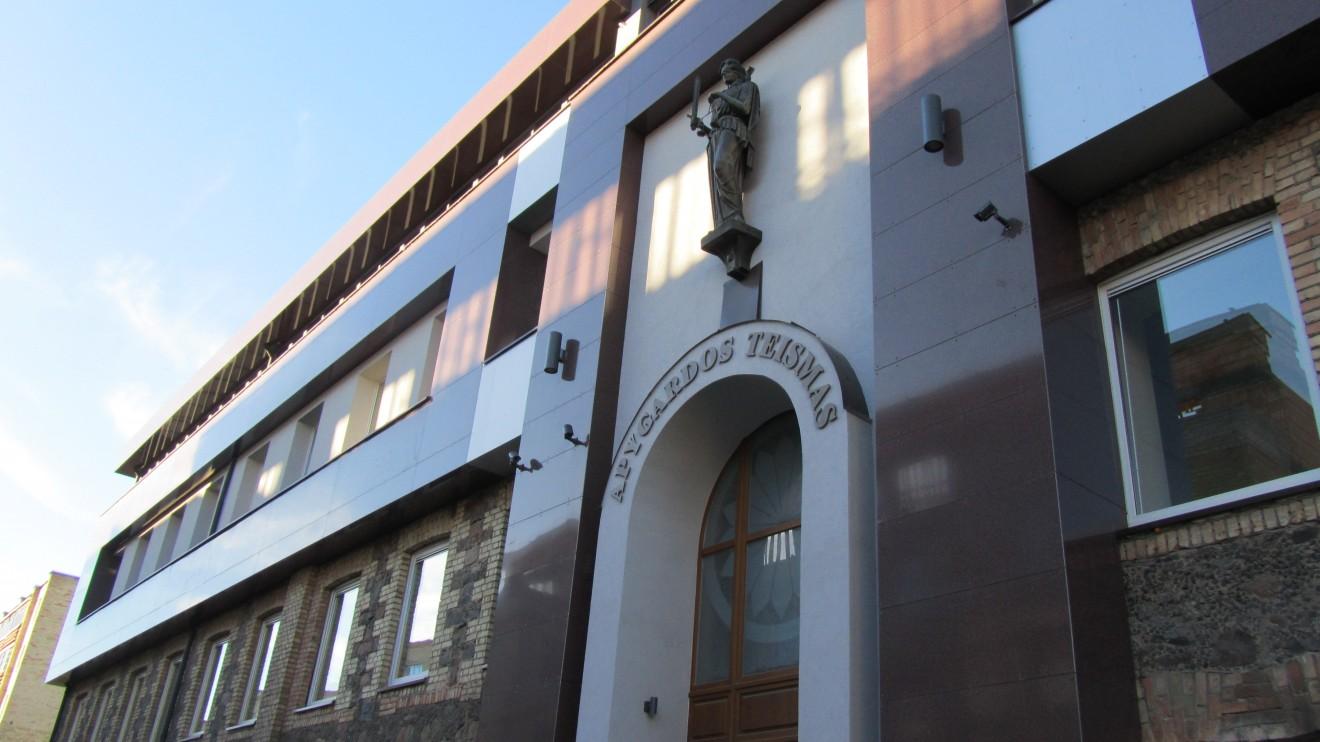Atnaujintas Šiaulių apygardos teismas patinka ne visiems