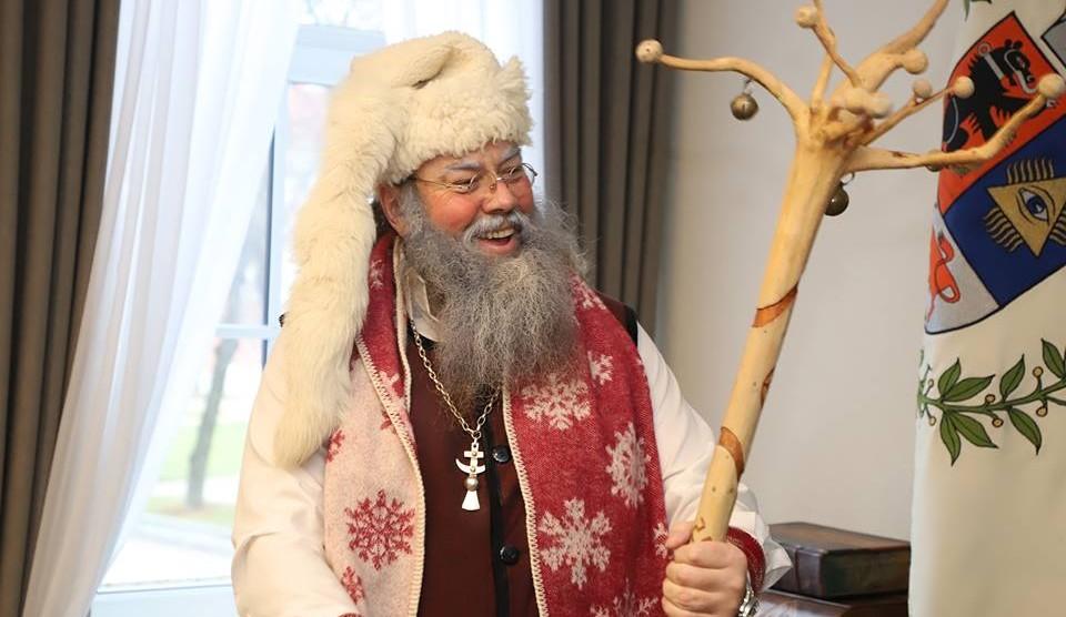 Miesto eglutę įžiebs pats Senelis Kalėda / Vitalio Lebedžio nuotr